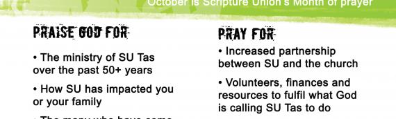 October is SU Month!